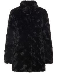 Vero Moda Faux Fur Jas - Zwart