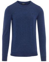 J.Lindeberg Lyle True Merino Sweater - Blauw