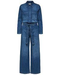 SELECTED Nu 20% Korting: Denim Jumpsuit - Blauw