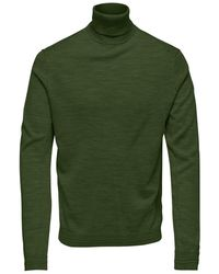 Only & Sons Col Trui - Groen