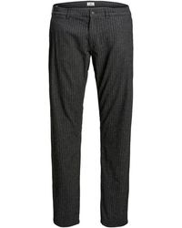 Jack & Jones Marco Charles Akm763 Plus Size Hose - Grau