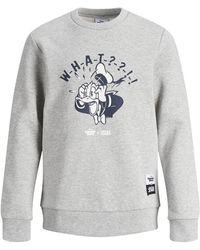 Jack & Jones Jungs Donald Duck Sweatshirt - Grau