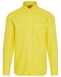 J.Lindeberg David Oxford Overhemd - Geel