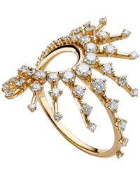 "Fernando Jorge 18k Yellow Gold & Diamond ""clarity"" Ring"
