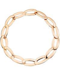 "Vhernier 18k Rose Gold ""olimpia"" Link Necklace - Metallic"
