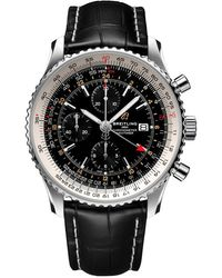 Breitling Chronograph Automatic Black Dial Mens Watch