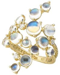 "Paul Morelli - Moonstone ""bubble Cluster"" Ring - Lyst"