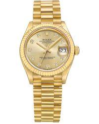 Rolex Datejust 31 Yellow Gold - Metallic