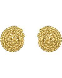 Tiffany & Co. - 18k Yellow Gold Twistwire Spiral Earrings - Lyst