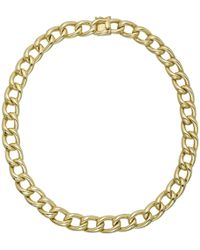Tiffany & Co. 14k Yellow Gold Curb-link Necklace