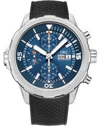 "Iwc - Aquatimer Chronograph ""jacques-yves Cousteau"" - Lyst"