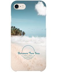 Between Two Seas Iphone 8 Full Wrap Case - Blue