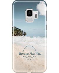 Between Two Seas Samsung Galaxy S9 Full Wrap Case - Blue