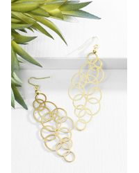bevello - Small Circles Earring - Lyst