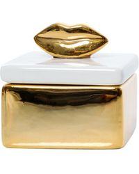 Shiraleah - Lip Trinket Box - Lyst
