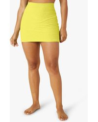 Beyond Yoga Spacedye Move It Skirt - Yellow