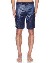 ATM Blue Swim Shorts - Lyst
