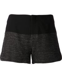 Rag & Bone Two Toned Shorts - Lyst