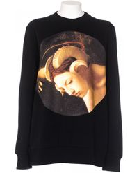 Givenchy Felpa Oversize Nera Stampata black - Lyst