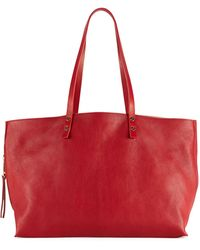 Chloé Dilan Eastwest Leather Tote Bag - Lyst