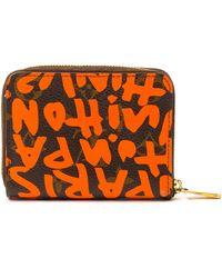 Louis Vuitton Graffiti Zippy Coin Purse - Lyst