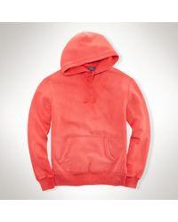 Polo Ralph Lauren Fleece Pullover Hoodie - Lyst