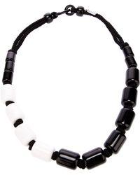 Antonella Filippini - Monochrome Beaded Necklace - Lyst