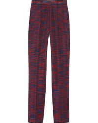 M Missoni Cottonblend Straightleg Pants - Lyst