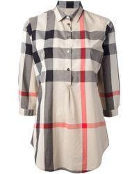 Burberry Brit Classic Check Shirt - Lyst