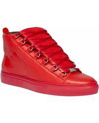 Balenciaga Arena High Sneakers - Lyst
