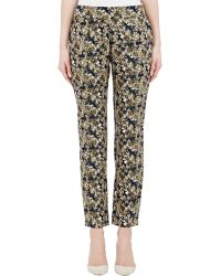 Barneys New York Reverse Charmeuse Pants - Lyst