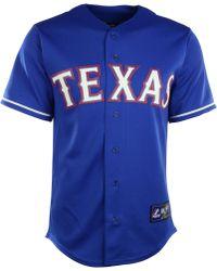 Majestic Mens Yu Darvish Texas Rangers Player Replica Jersey - Lyst