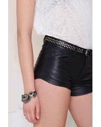 Nasty Gal - Maison Scotch Studly Leather Belt - Lyst