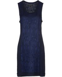 Rag & Bone Short Dress - Lyst