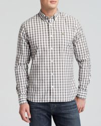 Lacoste Gingham Woven Sport Shirt - Regular Fit - Lyst