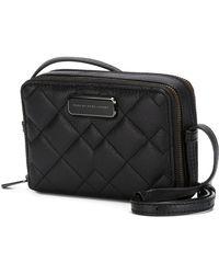 Marc By Marc Jacobs 'sophisticato Crosby Quilt Gemini' Crossbody Bag - Black