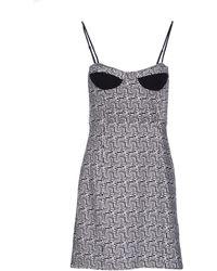 Chloë Sevigny x Opening Ceremony Short Dress black - Lyst