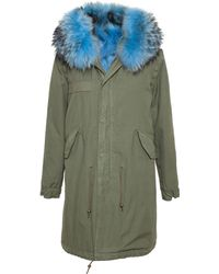 Mr & Mrs Furs Garance Coyote Lined Parka - Lyst