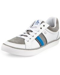 Original Penguin Thaw Mesh Leather Tieup Sneaker - Lyst
