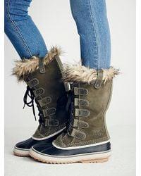 Free People Joan Arctic Weather Boot - Grey