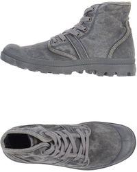 Palladium Hightops Trainers - Grey
