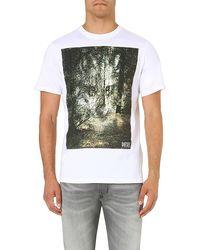 Diesel T-Ebo Cotton-Jersey T-Shirt - For Men - Lyst
