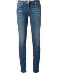 Roberto Cavalli Skinny Trousers - Lyst