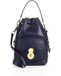 Ralph Lauren Collection Ricky Drawstring Bucket Bag - Lyst
