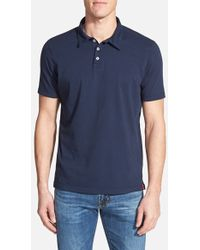Agave Supima Cotton Jersey Polo - Lyst