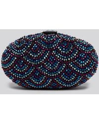 Sondra Roberts Clutch - Oval Bead Box - Lyst
