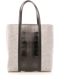 Alexander Wang | Prisma Tote Soft Grey | Lyst