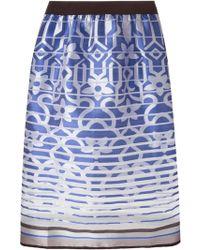 Ostwald Helgason Mid-Length Skirt - Lyst