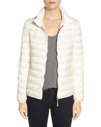 Tumi - 'pax On The Go' Packable Quilted Jacket, Ivory - Lyst