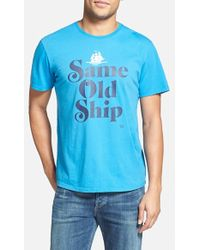 Ames Bros - 'same Old Ship' Graphic T-shirt - Lyst
